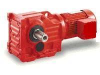 K series helical gears bevel gear reducer motor