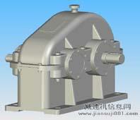 ZD、ZDH、ZDSH减速器实体模型
