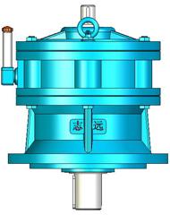 XL、XLD(8000系列)摆线针轮减速机实体模型
