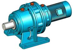 XWE、XWED(8000系列)摆线针轮减速机实体模型