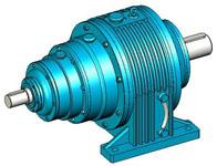 NGW行星齿轮减速器实体模型(JB1799-76)