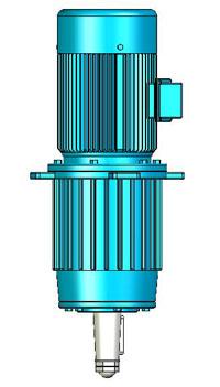 NLQ型行星齿轮减速机实体模型