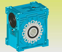 NMRV型铝合金微型蜗杆减速器实体Q/JF01-1999