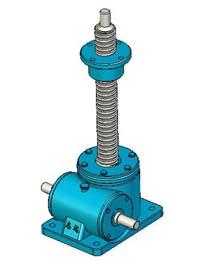 SWL系列蜗轮丝杠升降机实体模型(JB/T8809―1998)