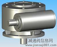 WCJ120型蜗轮蜗杆减速器实体模型