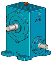 WD蜗杆减速器实体模型(JB/ZQ4390-79)