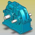 ZDY、ZDZ型减速器实体模型JB/T8853-2001