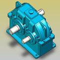 ZDY、ZDZ型减速器实体模型(JB/T8853-2001)