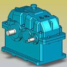 ZLY、ZLZ型减速器实体模型(JB/T8853-2001)