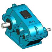 ZL、ZLH、ZLSH型减速器的实体模型