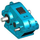 ZQ、ZQH、ZQSH圓柱齒輪減速機實體模型