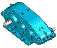 ZSC減速機實體模型