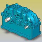 ZSY、ZSZ型减速器实体模型(JB/T8853-2001)