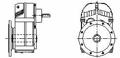 JF系列减速电机(GB10095-88)