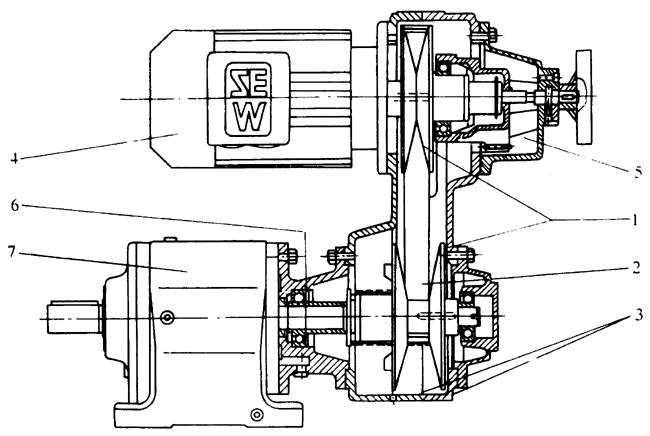 罩极电机_机械无级变速机简介 德国SEW机械无级变速器减速机参数查询