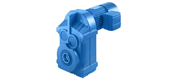 BF series parallel shaft helical gear reducer