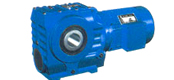 BS series helical gear - worm reducer