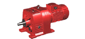 DCR series helical gear reducer motor