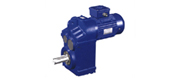 DF series parallel shaft helical gear reducer