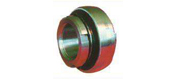 With the locking sleeve and the outer spherical ball bearings (GB/T7810-1987)