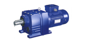 DR series helical gear reducer of hard toothed surface