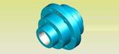 GCLD型电机轴伸鼓形齿式联轴器JB/T8854.1