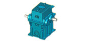 GS type high speed involute cylindrical gear box