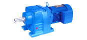 JRTR helical gear reducer motor
