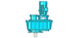 LPJ, LPB, LPP type vertical parallel shaft reducer of hard toothed surface