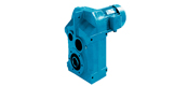 NF series parallel shaft helical gear reducer