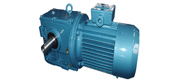 NS series helical gear worm reducer