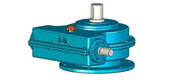 The Soviet Union spherical worm gear reducer