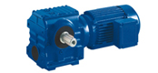 SXS系列斜齿轮-蜗轮蜗杆减速电机