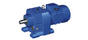 WR series helical gear reducer motor