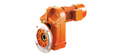 WXF series parallel shaft helical gear reducer motor