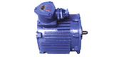 Flameproof three-phase asynchronous motor for YBI series of rock loading machine