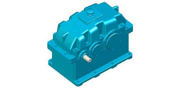 Gear ZLY, ZLZ hardened surface of cylindrical gear reducer JB/T8853-2001
